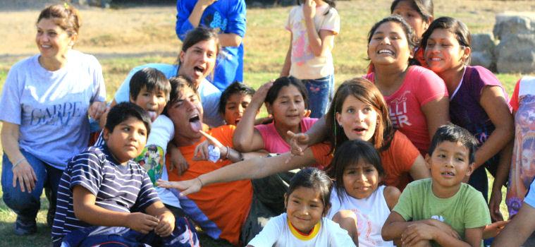 Caef, formazione e campo di volontariato