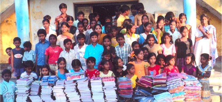 Sostegno a bambini dalit