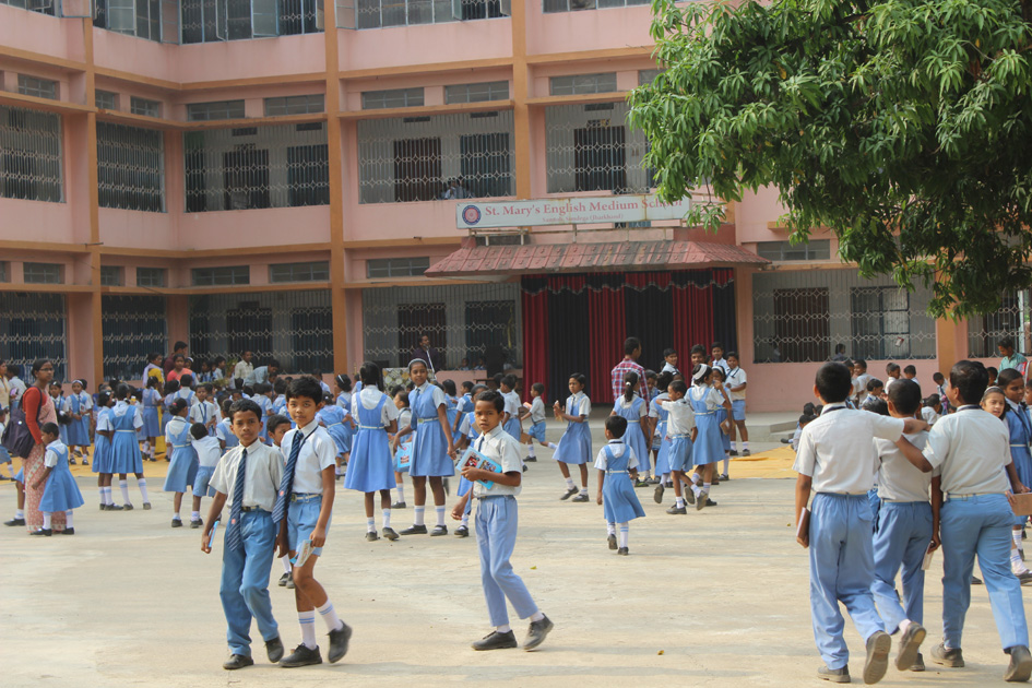 Una scuola per i ragazzi tribali
