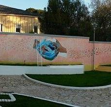 A Scutari un murale che è più di un murale