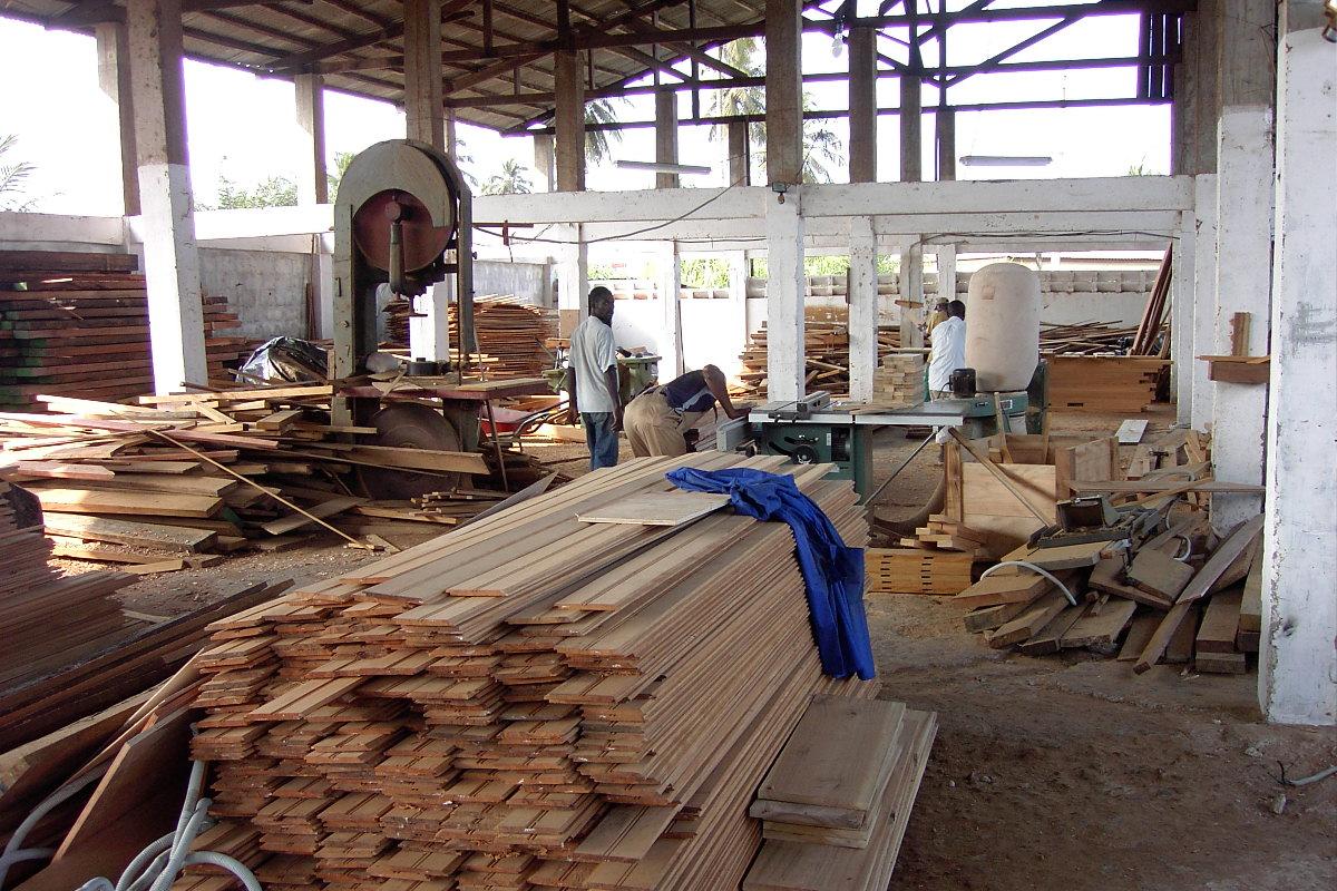 Una falegnameria a Sobanet