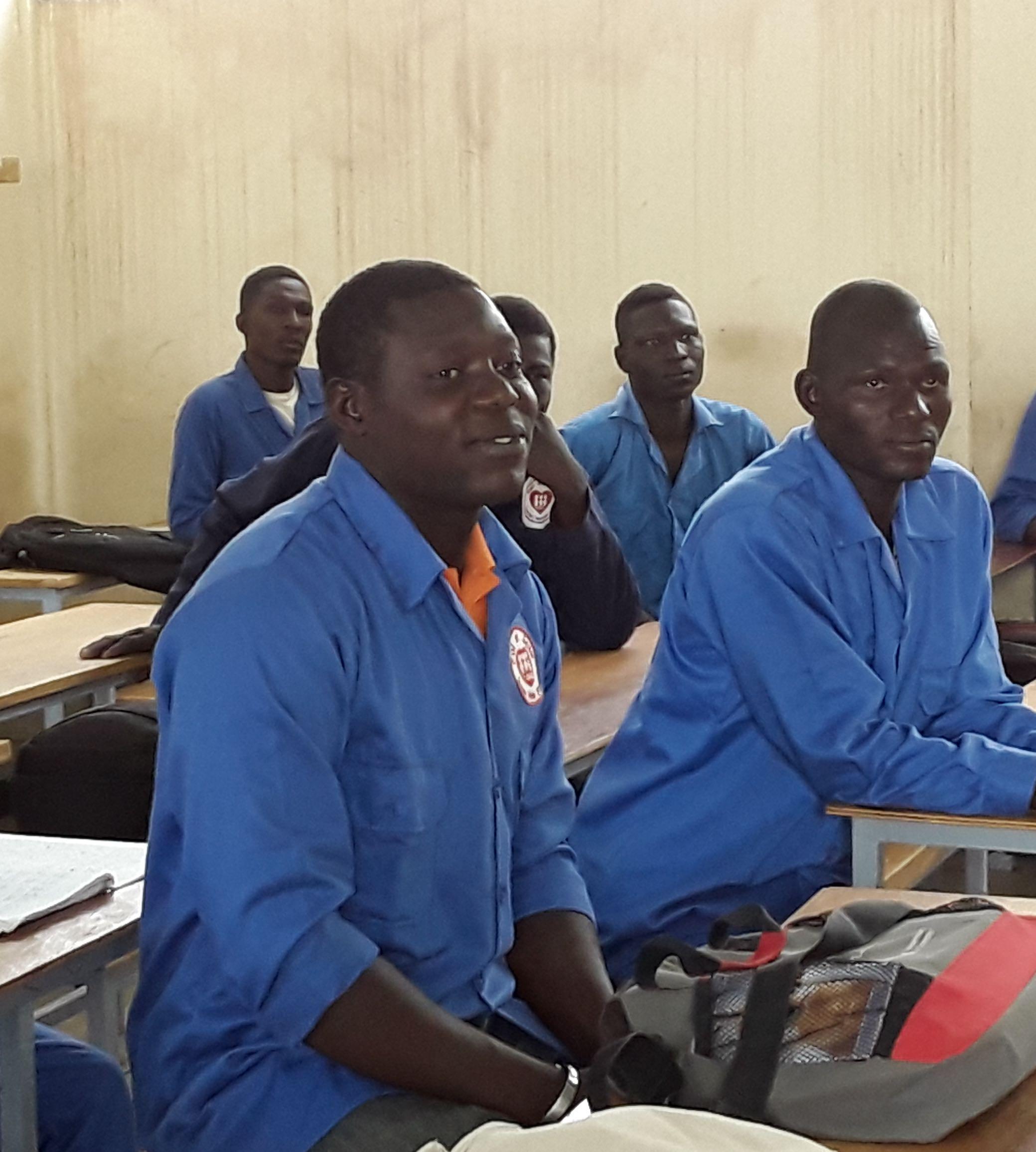 Un centro di formazione professionale a N'Djamena