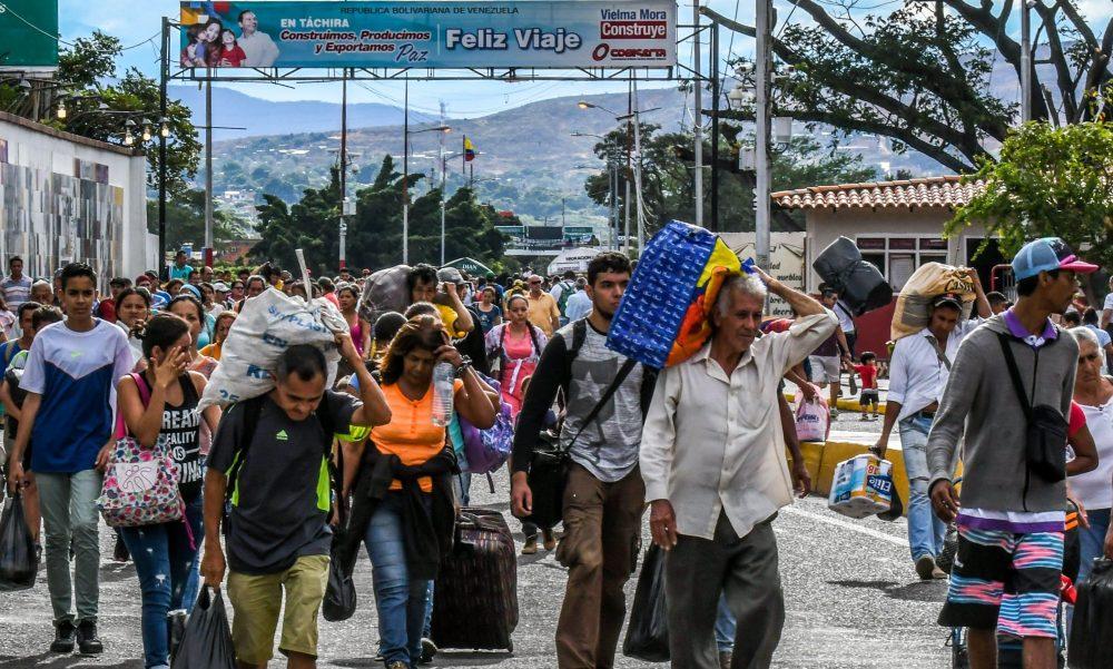 Sostegno agli sfollati venezuelani