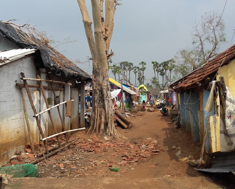 A sostegno dei rifugiati in Tamil Nadu