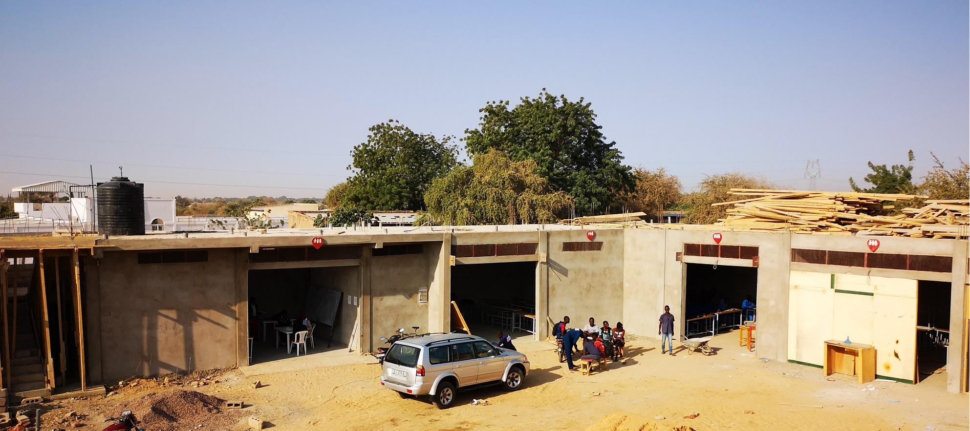 Prende forma il centro professionale a N'Djamena
