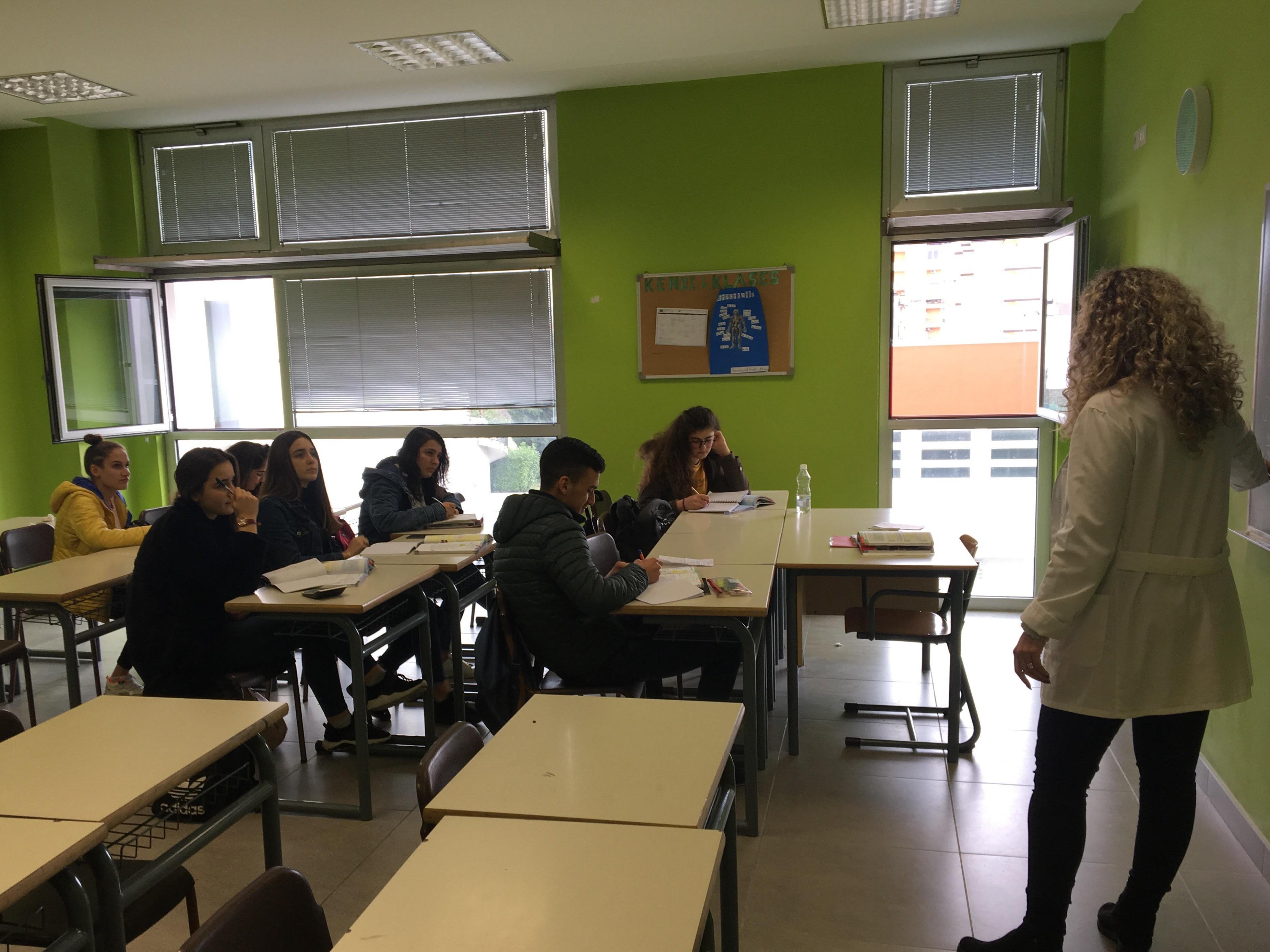 Scutari: partiti i corsi di recupero nel Liceo Atë Pjetër Meshkalla