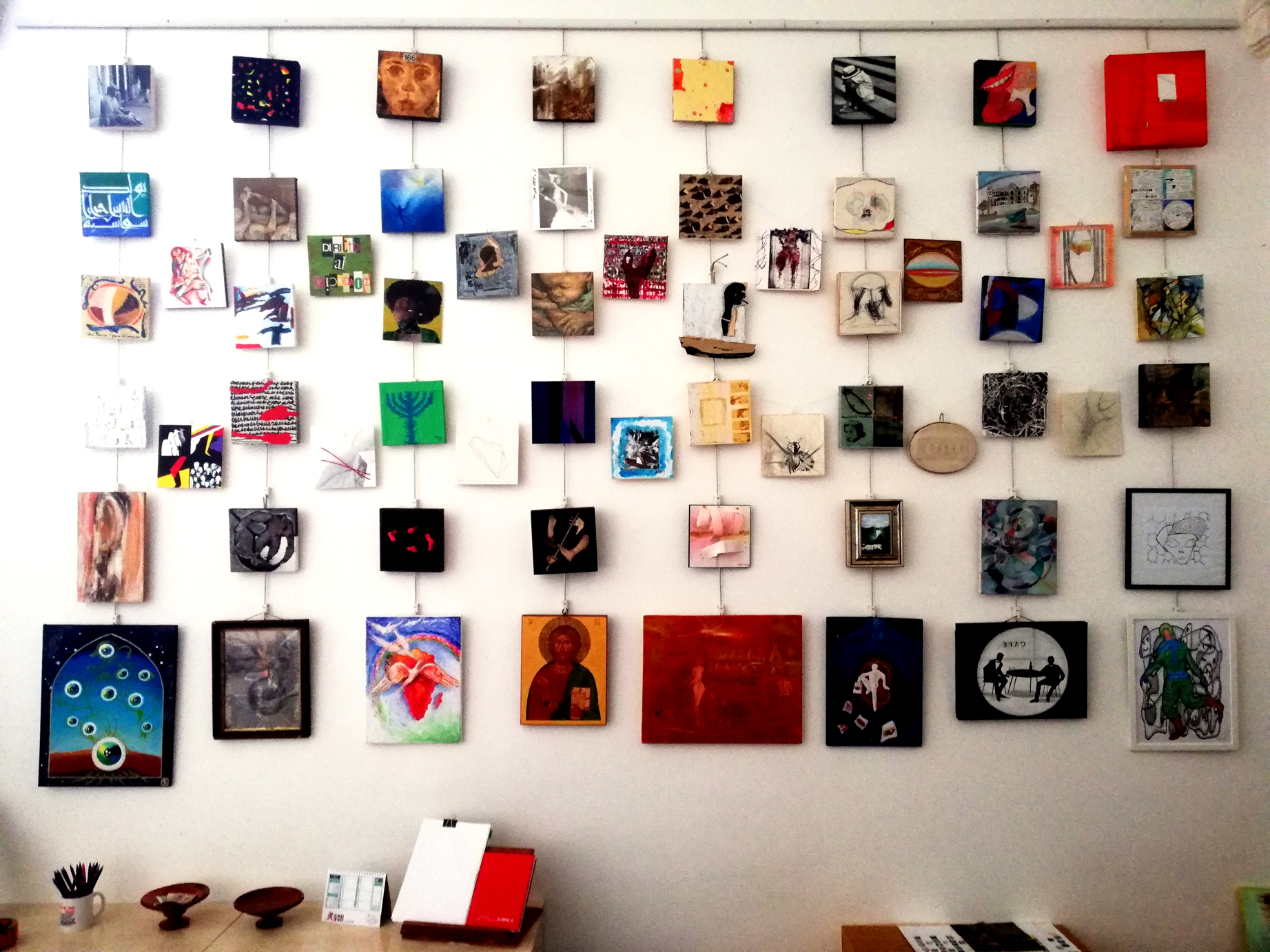 """Rome Art Week: il Magis presenta """"La parete dei Diritti"""""""