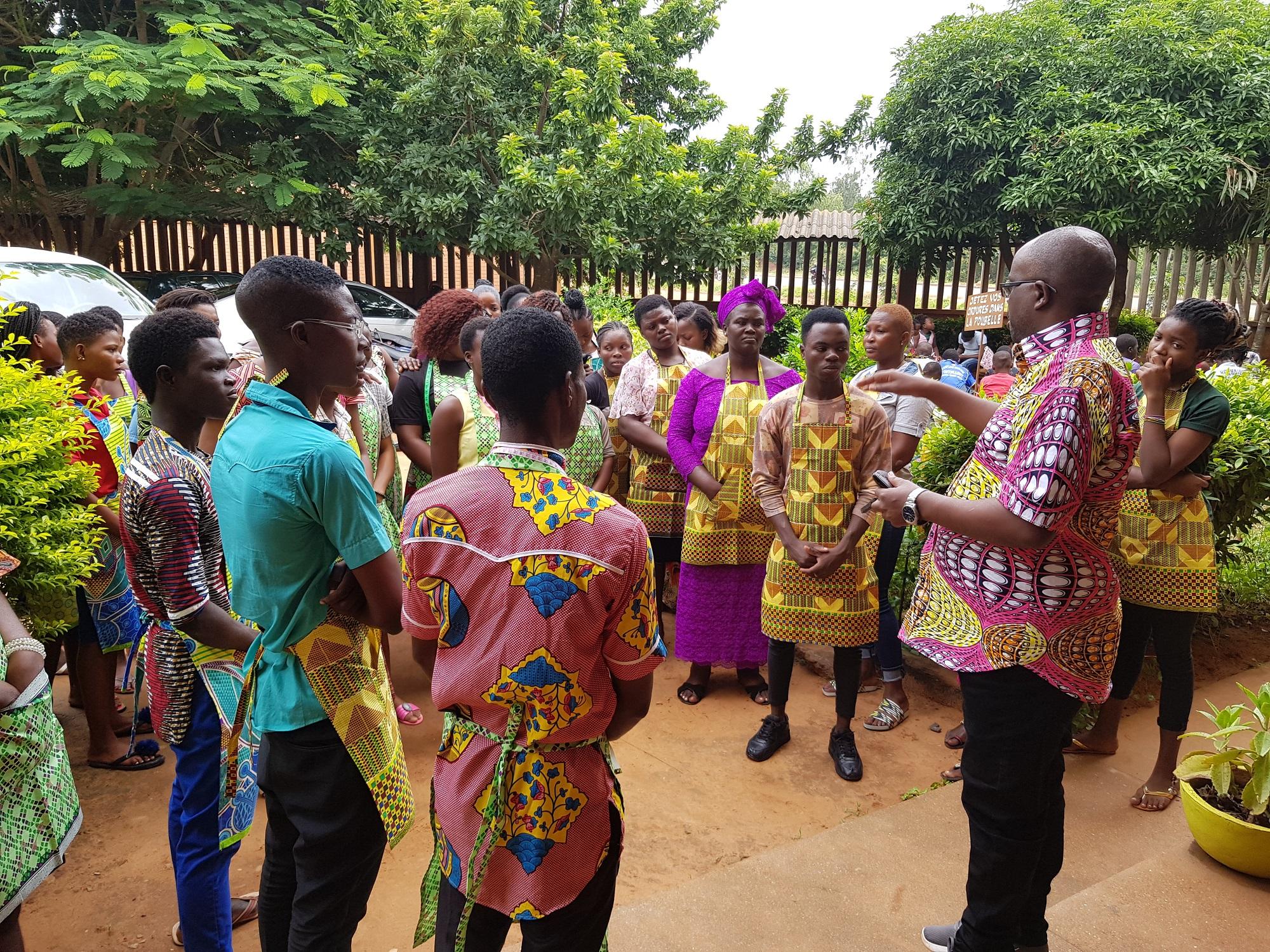 Formazione per giovani non scolarizzati di Lomé