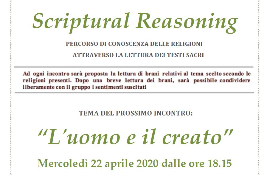 Video-incontro Scriptural Reasoning
