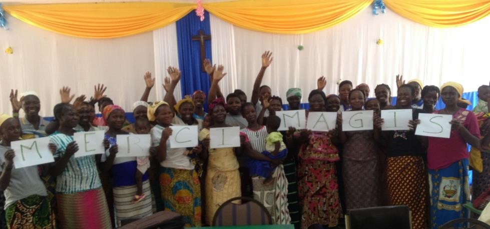 Attività generatrici di reddito per donne sfollate