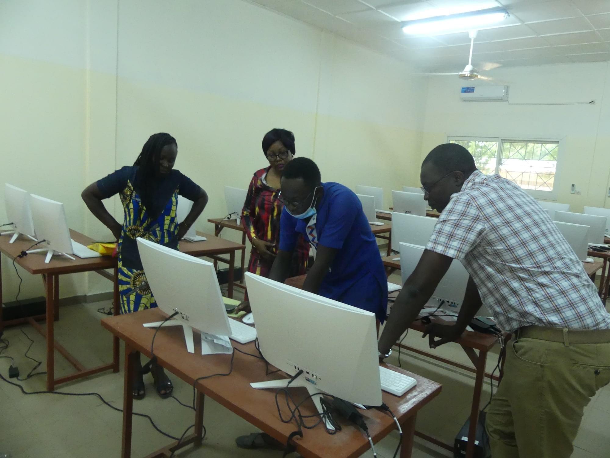 Il digitale a servizio della didattica presso la Facoltà di Medicina a Le Bon Samaritain