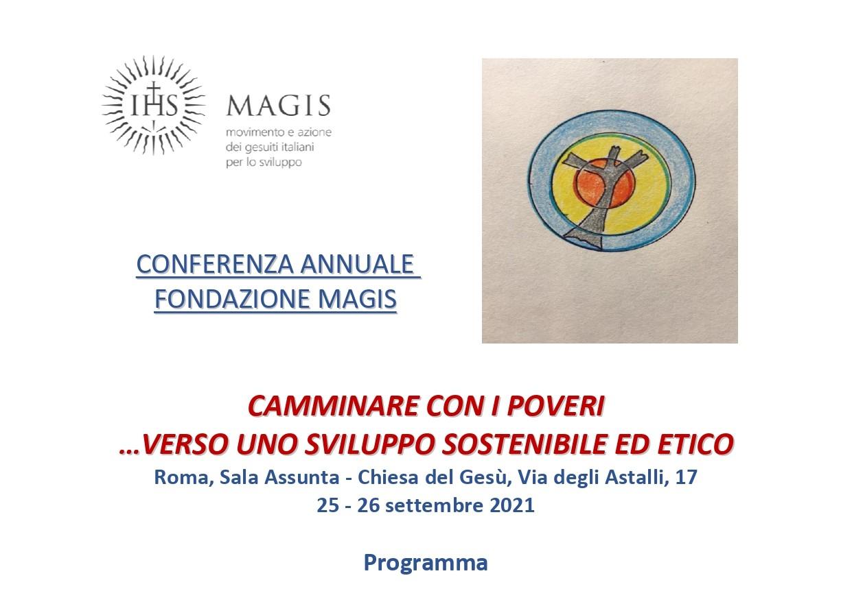 Conferenza annuale Fondazione MAGIS 25-26 settembre 2021